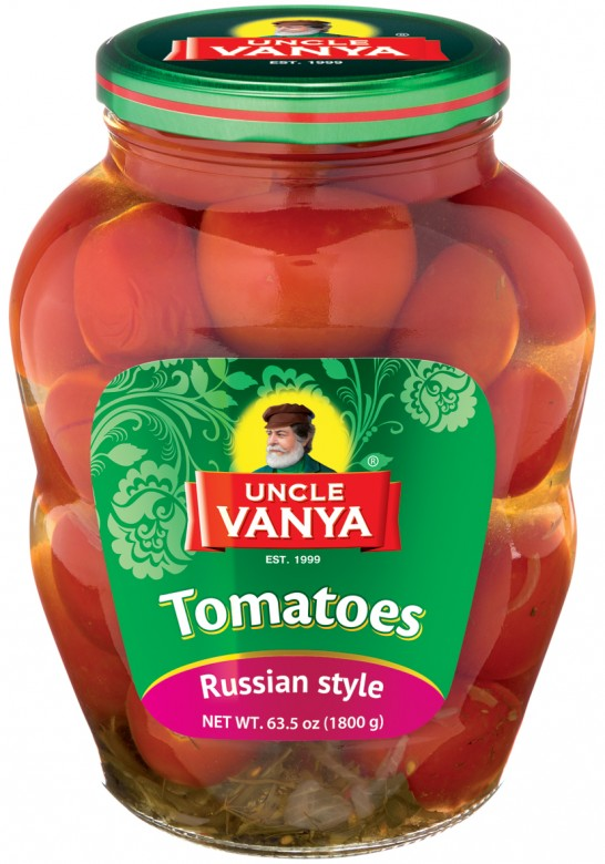 Tomatoes Marinated 1800 ml glass bottle