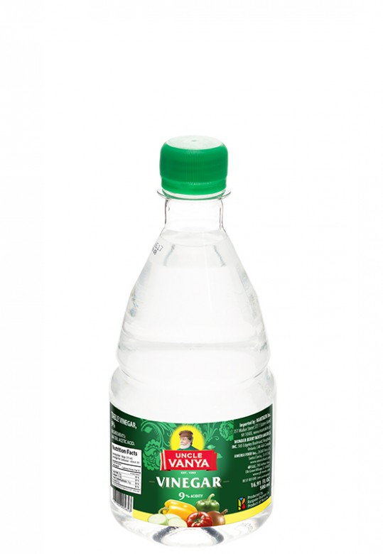 Vinegar 9% 500 ml plastic bottle