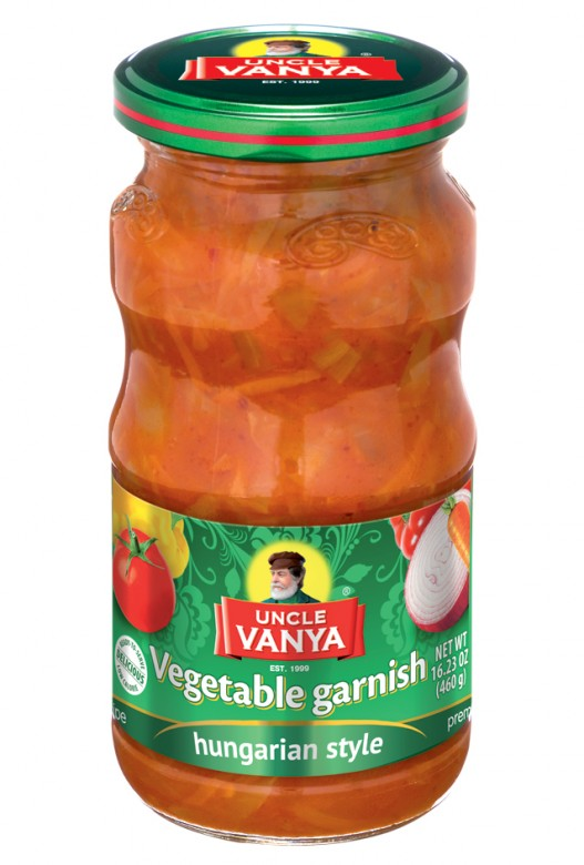 Vegetable garnish Hungarian style 460 ml jar