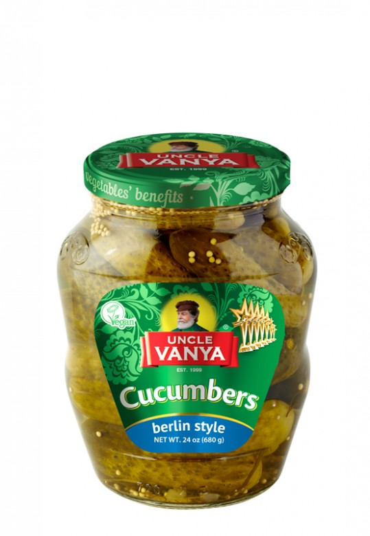 Cucumbers Berlin style  680 ml jar