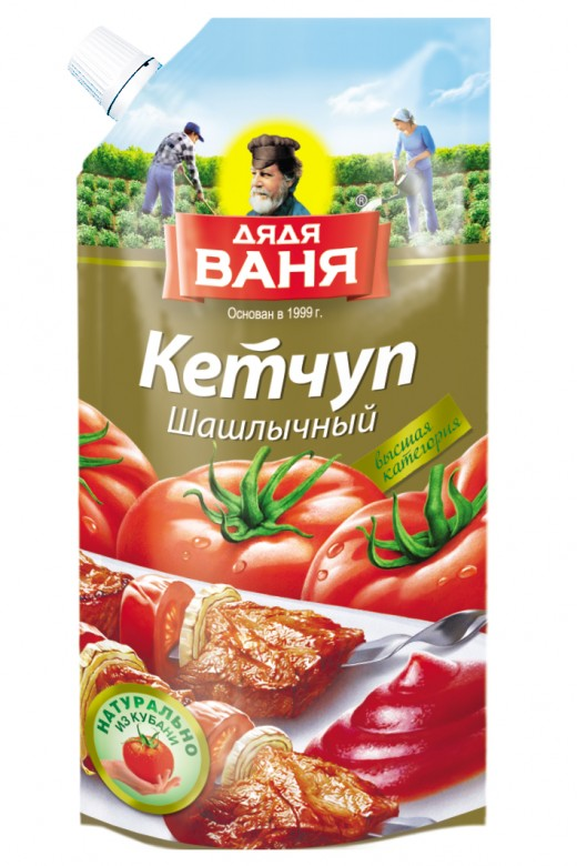 Barbecue Ketchup 330 ml plastic pack