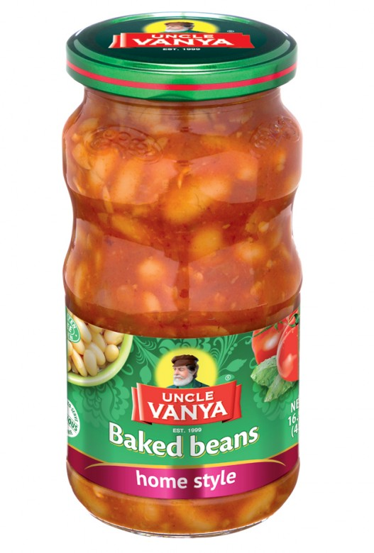 Beans baked Home style 460 ml glass bottle