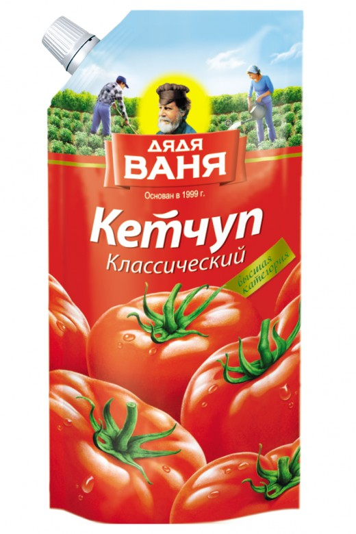 Classic Ketchup 330 ml plastic pack